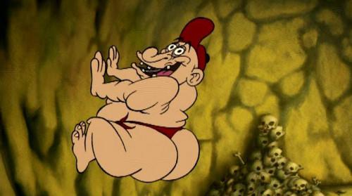 Adventure horny hero [2009,cartoon,action,horror]