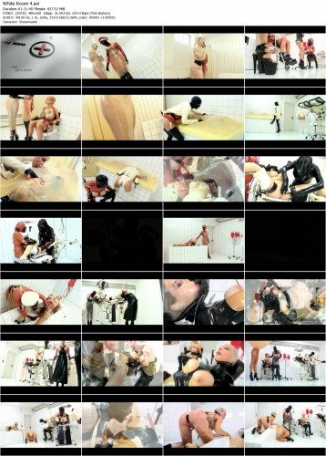 White Room 4  [Marquis Media] 2007 (Latex, Rubber, Fetish, Bizarre, Gasmask, Lesbian, Strapon, Dildo