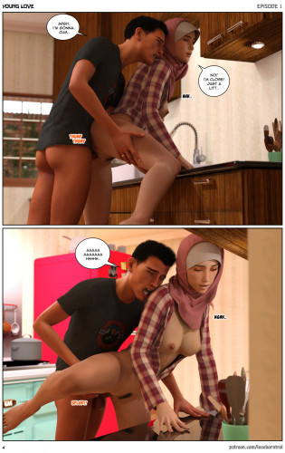 Losekorntrol Collection [3D Porn Comic ,cuckold,male domination]