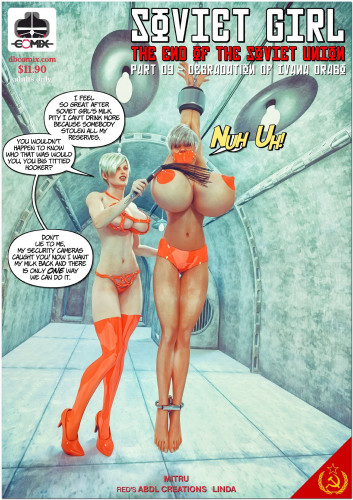 DBComix - Soviet Girl - The End of the Soviet - Union 9 [milking,femdom,3D Porn Comic]