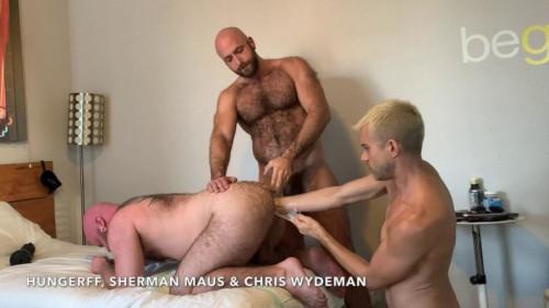 RFC - Triple Tag Team Fisting (Pt1) Sherman Maus and I FistFuck Chris Wydem