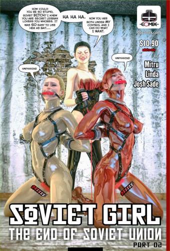 DBComix - Soviet Girl the End of Soviet - Union 1-8 [superheroine,femdom,bondage]