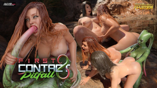 First contact 8 - Pitfall [Anal,Big Ass,Cumshot]