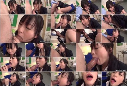 Hot teacher nozomi hazuki engulfing a corpulent knob