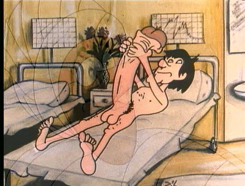 Cartoon about the loving doctor [1978,Hardcore,Cartoons,All Sex]