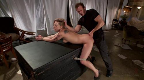 Brutal blowjobs part 1 [2012,BDSM,FuckedAndBound,Gangbang,Double Penetration,Bondage]