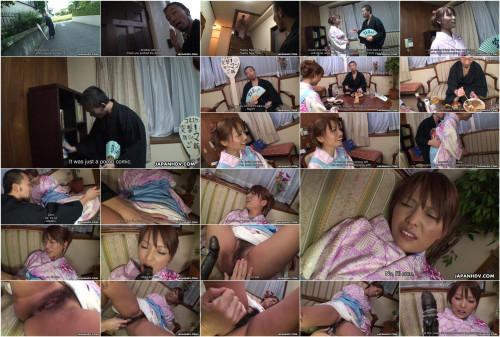 After feeding a stranger kaede moritaka receives her love tunnel stimulated