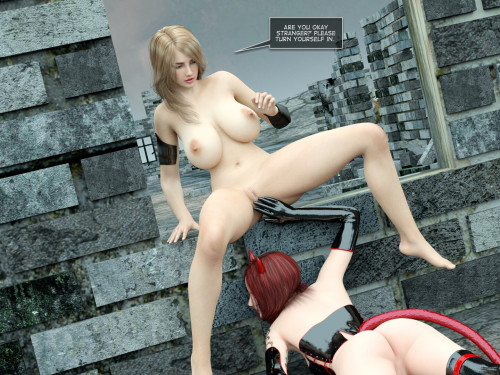 Amusteven - Tanya and The Succubus 2 - Deluxe Edition [monster cock,rough sex,3D Porn Comic]