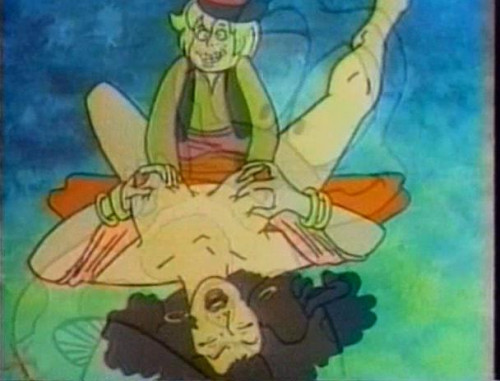 pierce two ones by a dick [1987,Adult Animation]