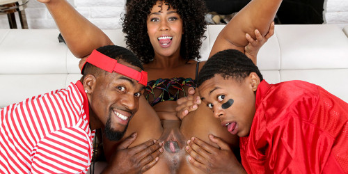 Misty Stone – Fucking My Boy and His Coach (2019)