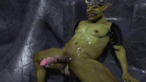 Noble Elf Girl Turned Into the Goblin Chief's Sex Slave [2020,Creampie,Anal]