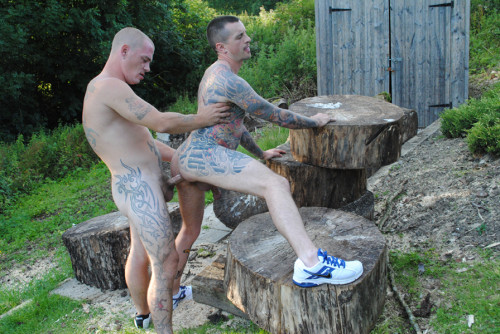 HBL - Max English & Dan Jensen - Tattooed Rugby Lads Country Fuck