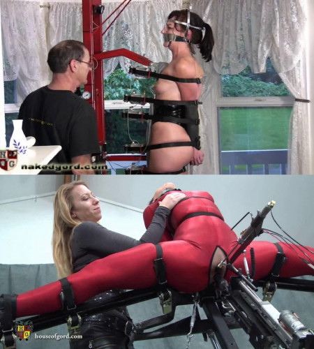 Super bondage, strappado and torture for very hot bitch