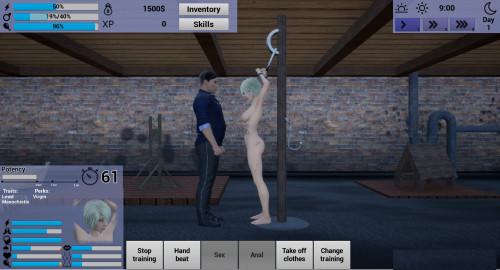 90 Seconds Slave Version 0.8 a [2020,Oral sex,BDSM,3DCG]