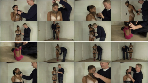 Enchantress Sahrye Electrical Taped Pump Gagged And Drooling (2015)