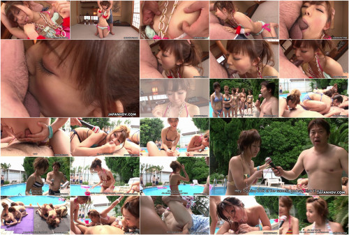 Yuki asami acquires punished during the time that the pool-side games proceed