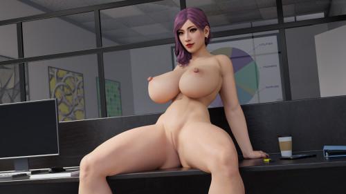 Seong-Hui [3D Porn Comic,huge cock,futanaria]