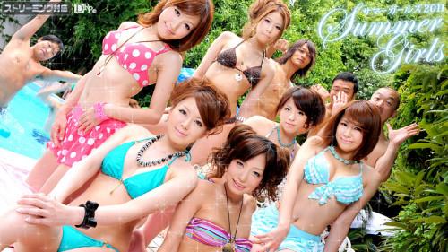 Summer Girls 2011 Vol.1  Caribbeancom (081211-776) [Uncensored asian,Caribbeancom,Rika Aiba,Hairy Pussy,Creampie,Fingering]
