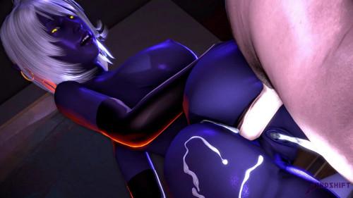 Sexy Cartoon Babe Nualia Loves Brutal Fuck
