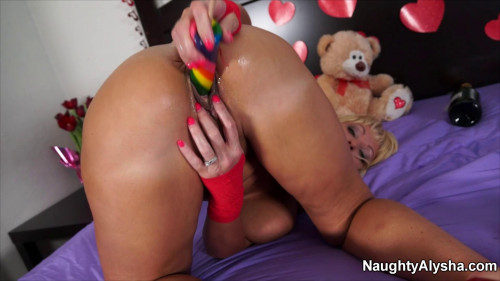 5 Best Clips Naughty Alusha. Part 2. [2020,Fisting and Dildo]