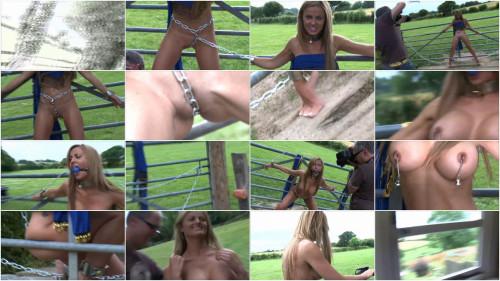 Tight restraint bondage, predicament and punishment for lustful slut Full HD 1080p
