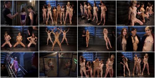 Seven Slave Intake - Extreme Bondage, Exhausting Exercise, & Overwhelming Orgasms Expose the Weak