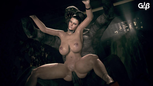 Excella x Monster [2019,All sex,3D]