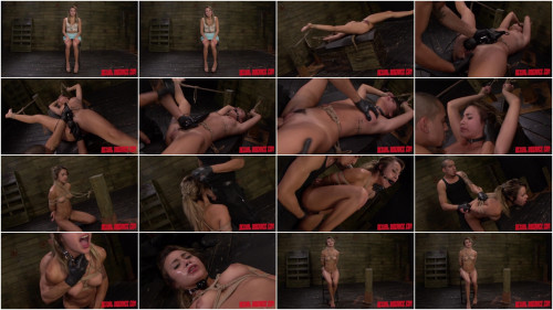 Marina Angel Earns a Facial After Rope Bondage, Deepthroat BJ, Rough Sex, Squirting (2015)