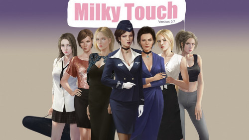 Milky Touch [Footjob,Male Protagonist,ADV]