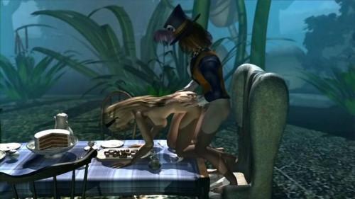 Alice in Wonderland [2011,Feature,Lesbians,Parody]