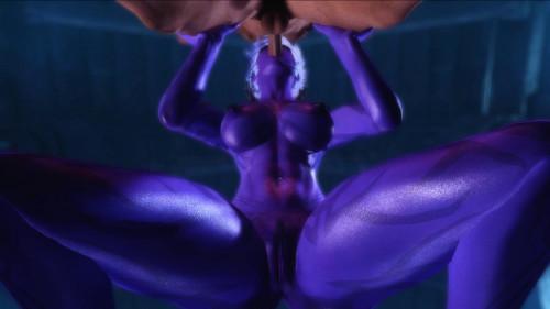 Succubus Breeding [2019,mai,3D animation,Street Fighter]