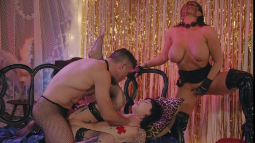 A Burlesque Story [2020,Transsexual,Cherie DeVille,threesomes,feature,All sex]