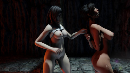 Lara's Capture [2021,Domination,Strapon,3DCG]