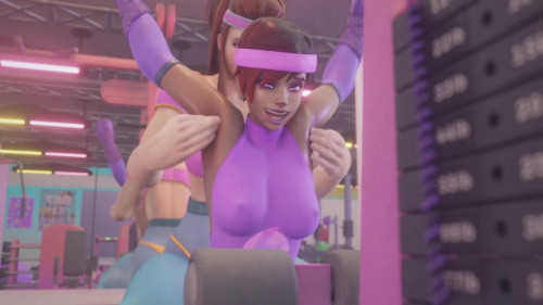 Brigitte and Sombra Tickle Sequence [2021,All sex,3D]