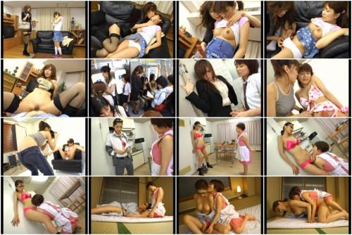 D-1210 - Hermaphrodite Lesbian Climax . Riko Tachibana , Hina Otsuka