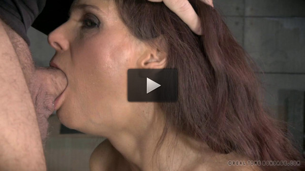 RTB - Sexy Milf shackled down with epic rough deepthroat - Feb 3, 2015.