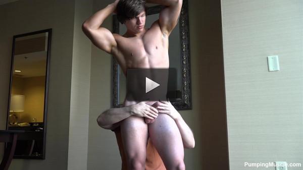 Pumping Muscle Jack B Photo Shoot 1 FHD