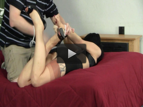 Girdle Bound, Gagged, and Distressed - english, girl, online, punish