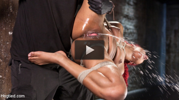 Non Stop Squirting, Fisting and Torment in Brutal Bondage.