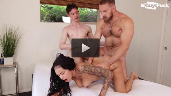 BiGuysFuck — Bryce Beckett, Kingsley Kross & Ivy Steele 1080p
