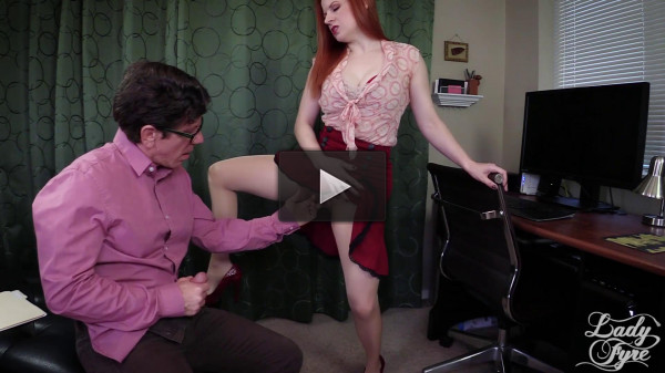 Lady Fyre Femdom — Sexy Boss Convinces You to Cheat on Wife