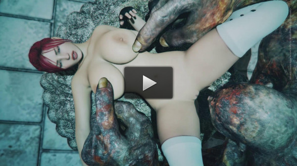 Busty Babe Velna Destroyed By Monster