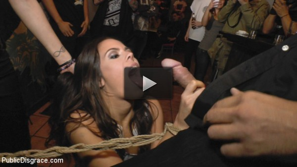 fuck slut (Beautiful Spanish Slut Completely Humiliated on Stage at Live Concert).