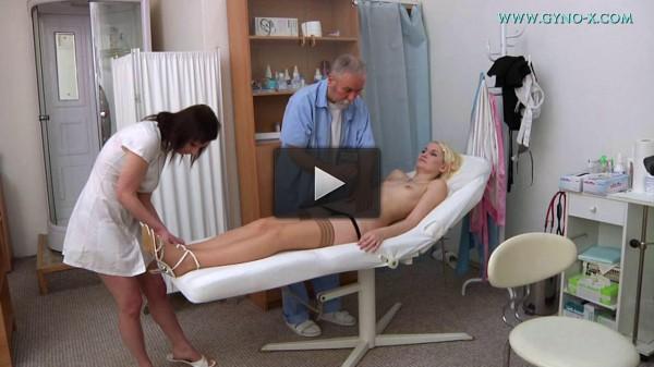 Blanche (21 years girl gyno exam)