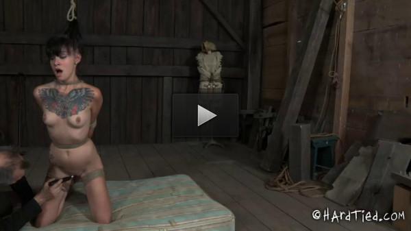 Hardtied juliette black yielding part 2 - Extreme, Bondage, Caning