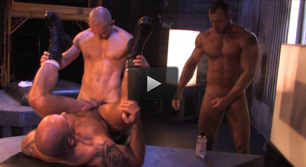 Centurion Muscle Males Bareback