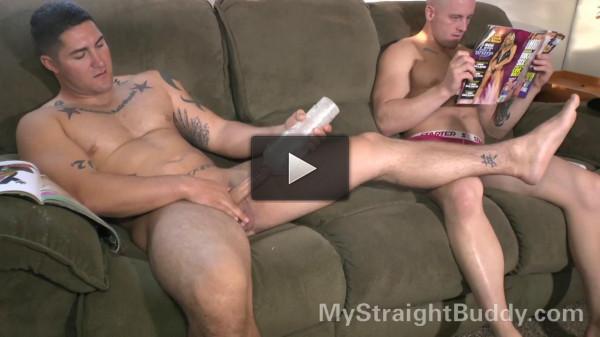Rick & Brennan Naked Bromance.