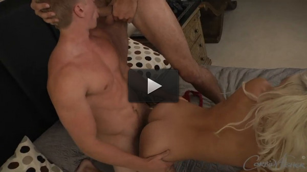 Kent and they's bi threesome - tease, making, hard, guys