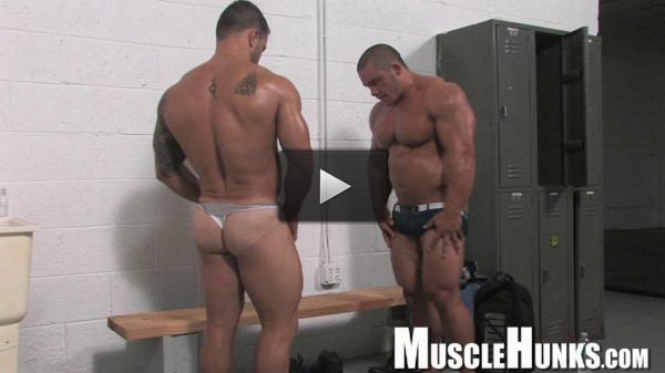 MuscleHunks — Bill Baker, Diago El Potro — Wrestling Bodybuilders