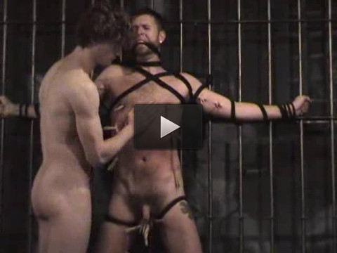 Master Dino Rosso has the tables turned on him by rebellious slave John Newman.